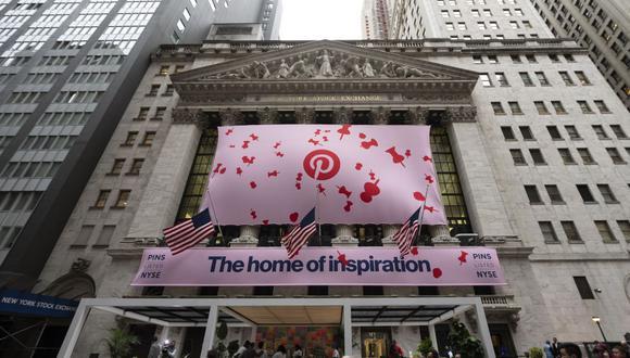 La información impactó en Wall Street, donde el título de Pinterest alcanzó una subida de casi un 6%. (Foto: AFP)
