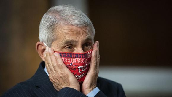 Coronavirus: El doctor Anthony Fauci es el principal epidemiólogo de Estados Unidos. (Foto: Al Drago / various sources / AFP).