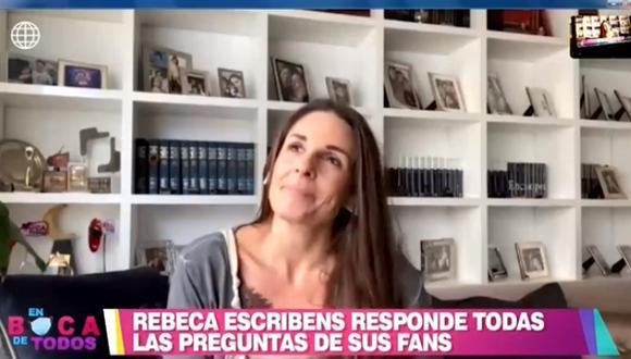 Rebeca Escribens se quiebra al revelar que extraña conducir programa en vivo   VIDEO