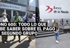 Bono 600 soles: ¿Cómo se pagará este subsidio económico a los hogares del segundo grupo?