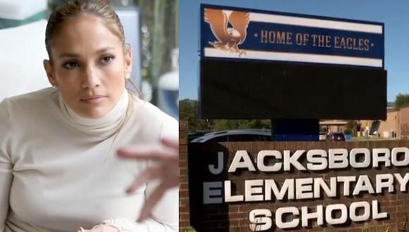 Jennifer Lopez y Álex Rodríguez decidieron apoyar a la escuela cuando se enteraron del caso. (Fotos: Instagram)