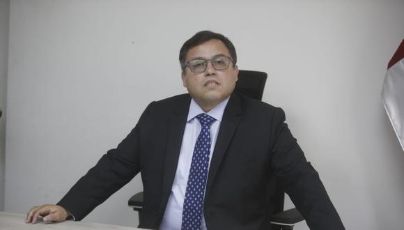 Daniel Soria señaló que el actual diseño normativo garantiza el trabajo técnico de los procuradores y el respeto al principio de autonomía funcional. (Foto: GEC/ Mario Zapata)