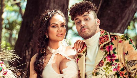 "Natti Natasha se unió a Prince Royce para estrenar ""Antes que salga el sol"". (Foto: Pina Records/Sony Music Latin)"