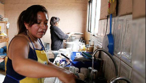 La Ley de Trabajadoras y Trabajadores del Hogar establece diversos avances en la relación laboral de las personas que realizan trabajo doméstico.(Foto: GEC)
