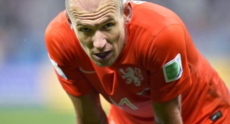 """Robben tiene un favorito: """"Alemania será campeón del mundo"""""""