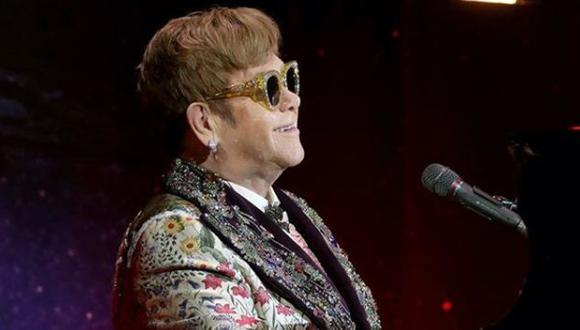 Elton John vivió una situación complicada en Las Vegas. (Foto: Instagram)