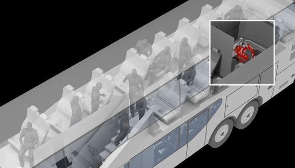 Incendio en bus dejó 17 muertos en el terminal Fiori de San Martín de Porres. (El Comercio)