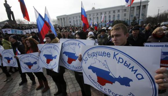 Ucrania: Prorrusos expulsan a gobernador al este de Crimea