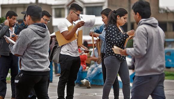 Perú, Colombia, Argentina y Brasil reportan intenciones sombrías de contratación para los próximos meses de julio, agosto y setiembre del 2020. (Foto: GEC/ Mario Zapata)