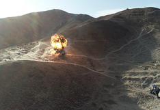 Ica: destruyen socavones y campamentos usados para minería ilegal en Reserva Nacional San Fernando