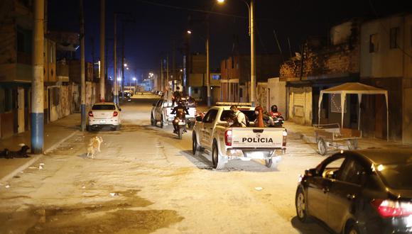 Policía y Serenazgo intervino local en el que se desarrollaba una fiesta de cumpleaños. (Foto: César Bueno/Referencial)