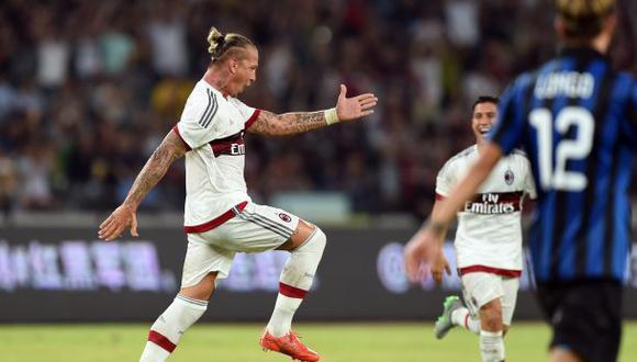 El golazo de volea de Philippe Mexes que enmudeció a Inter
