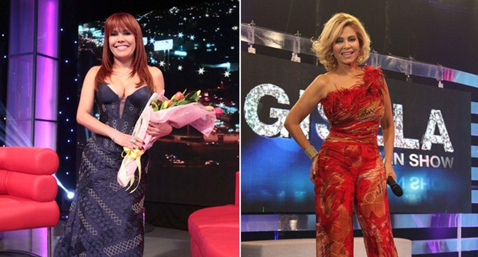 RÁTING: Magaly Medina se impuso a Gisela Valcárcel en su debut