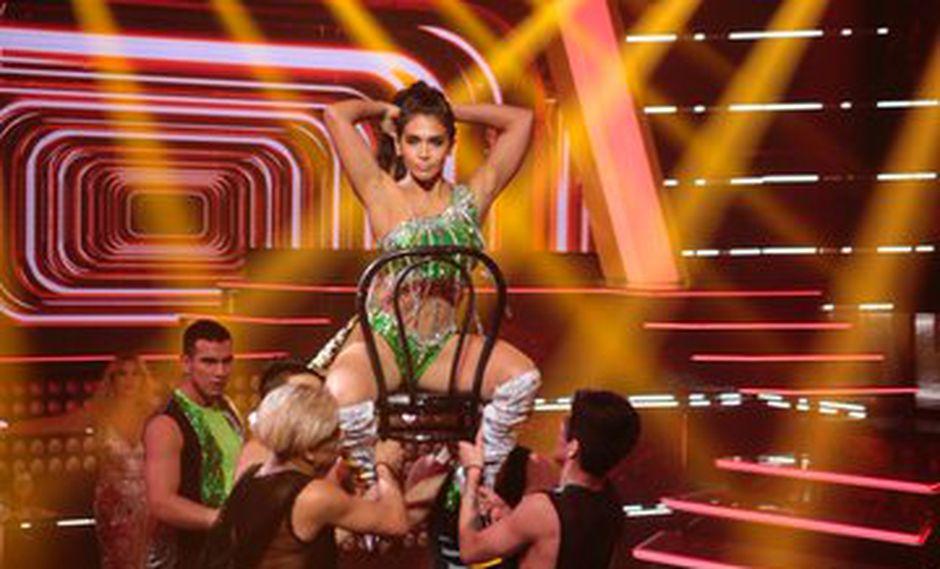 """Vania Bludao sorprendió a todo el público de las """"Reinas del show"""". (Foto: Twitter)"""