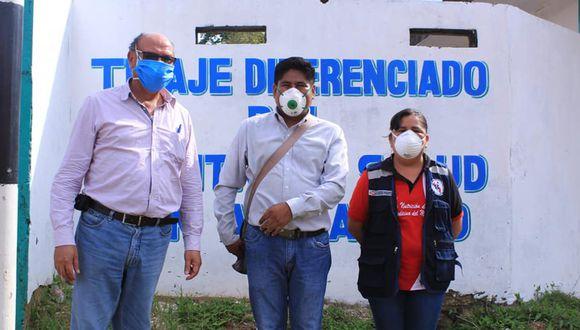 Las autoridades de Pedro de Abad rindió homenaje póstumo a la funcionaria y profesional de salud, con el izamiento de banderas a media asta.