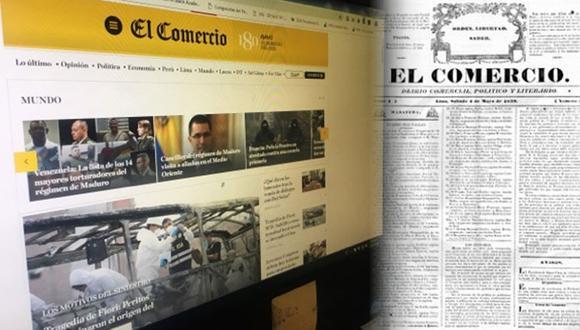 El Comercio es el decano de la prensa peruana.