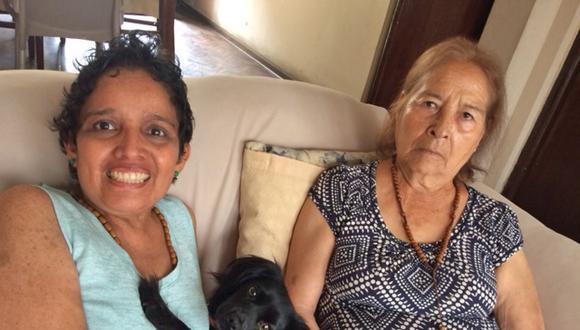 Martha Marchena señala que Angelita es importante para su mamá porque es un ser en el cual pensar y eso le ayuda a reducir la ansiedad.