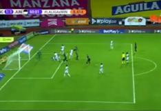 Once Caldas vs. Junior: Miguel Borja anotó el 1-1 a favor del 'tiburón' por la Liga Betplay | VIDEO