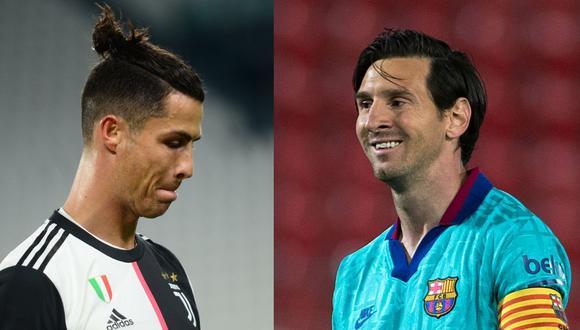 Mientras Cristiano erró un penal, Messi convirtió y dio dos asistencias. (Fotos: Reuters / AFP)