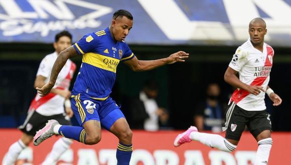 El duelo entre Boca y River animará la jornada futbolística de este domingo 16 de mayo. (Foto: EFE)