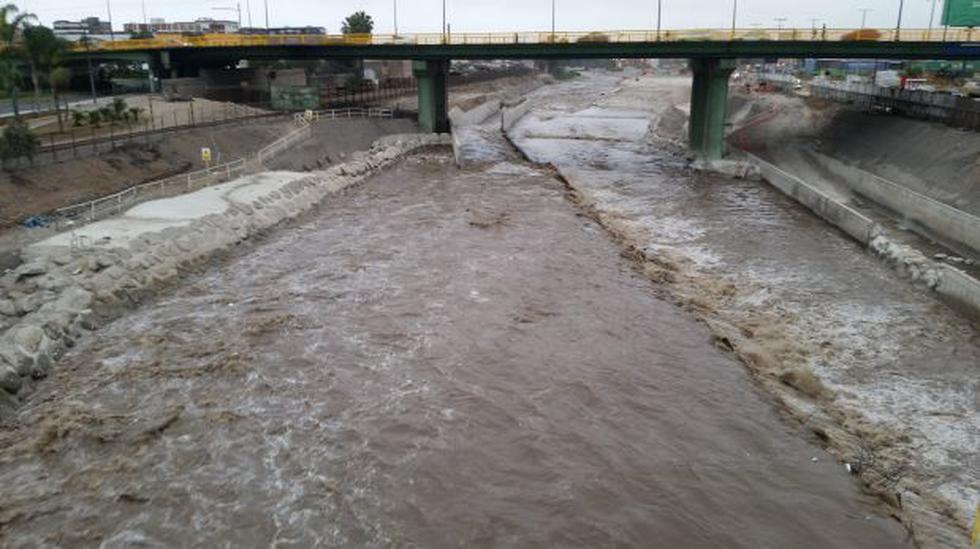 Caudal del río Rímac registró hoy su promedio más alto del mes - 2
