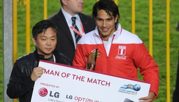 Guerrero fue el goleador en solitario de la Copa América 2011. (Foto: AFP)