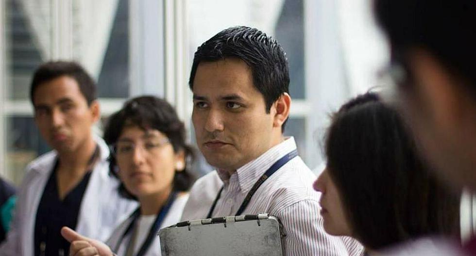 Mejía Cordero es integrante del Instituto de Medicina Tropical Alexander von Humboldt y médico infectólogo del hospital Cayetano Heredia. (Archivo personal)