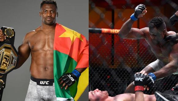 'El Depredador' Francis Ngannou acabó a Stipe Miocic en dos rounds. (Fotos: UFC)
