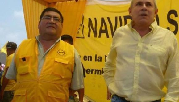 El alcalde Elías Cuba llegó al sillón municipal con Solidaridad Nacional. (Foto: Transparencia La Victoria)