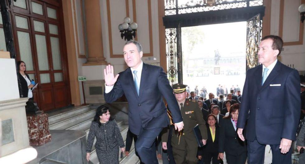 Salvador del Solar, ex primer ministro, destacó la designación de María Antonieta Alva como titular del MEF (Foto: Lino Chipana)