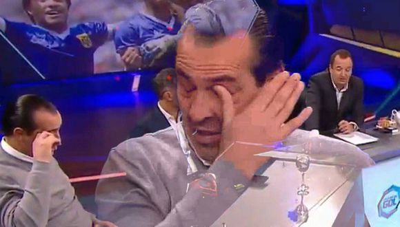 El 'Checho' Batista se enteró de la muerte del 'Tata' Brown mientras estaba en vivo en un programa de debate y no pudo aguantar las lágrimas. (Video: Fox Sports)