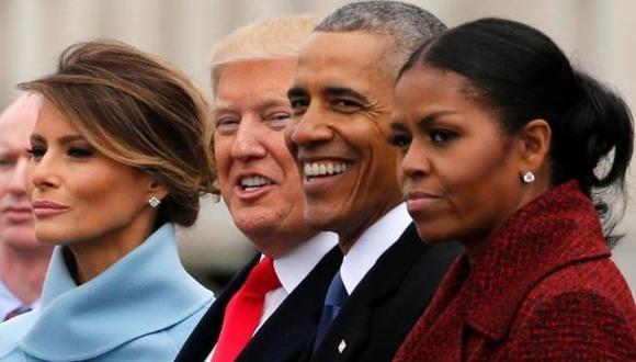 """Michelle Obama acusó a Donald Trump de """"poner la seguridad de su familia en riesgo"""". (Foto: Reuters)"""