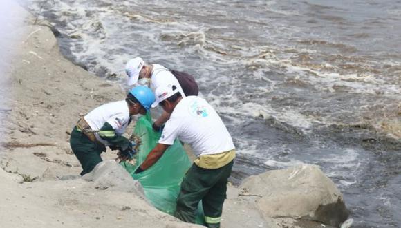 Jornada de limpieza de los ríos Chillón, Rímac y Lurín se realizará este martes 6 de octubre.