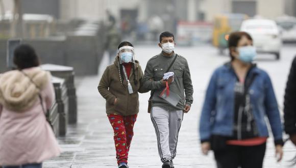 Lima registra temperaturas bajas durante el invierno. (Foto: César Bueno @photo.gec)