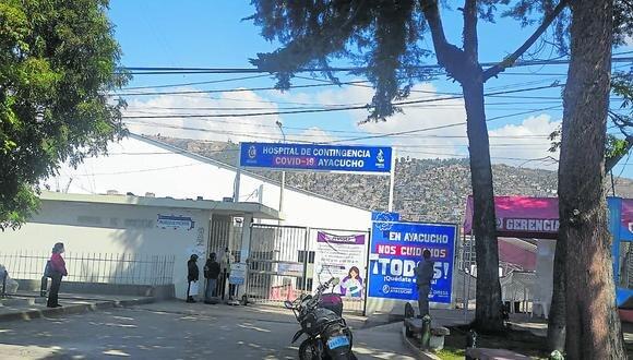 Ayacucho: los pacientes presentan un sangrado interno causado por el dióxido de cloro que ingirieron. (Foto: GEC)