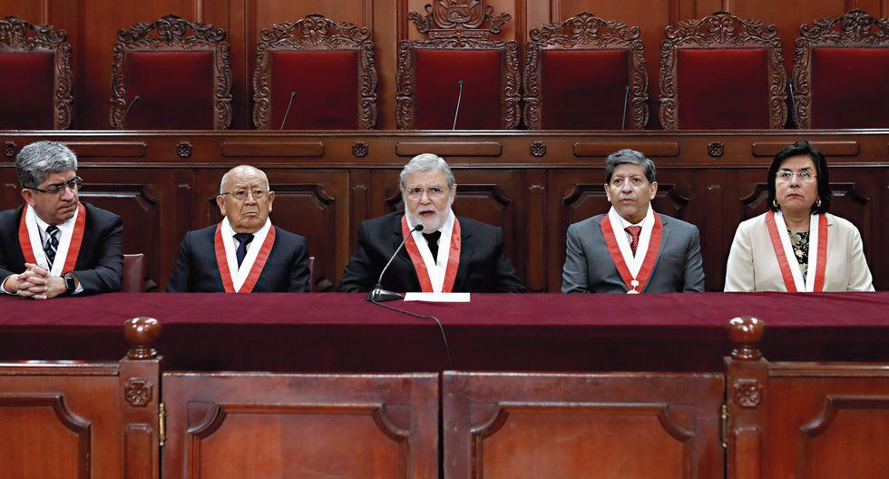Los miembros del Tribunal Constitucional ya están informados oficialmente del pedido de la procuraduría para que las declaraciones del sobrino de Jaime Yoshiyama sean incluidas en el proceso del hábeas corpus de Keiko Fujimori. (Foto GEC)