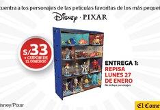 PELÍCULAS ILUSTRADAS, tus personajes favoritos de Disney y Pixar en tus manos.