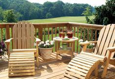 ¿Cómo proteger tus muebles de madera durante el verano?