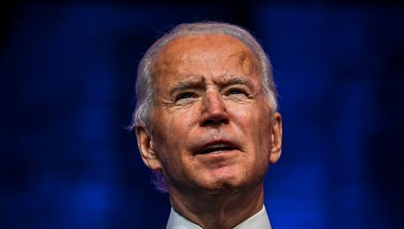 Joe Biden, presidente electo de Estados Unidos. (Photo by CHANDAN KHANNA / AFP)