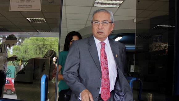 El suspendido fiscal supremo Pedro Chávarry enfrenta dos denuncias ante la Subcomisión de Acusaciones Constitucionales. (Foto: GEC)