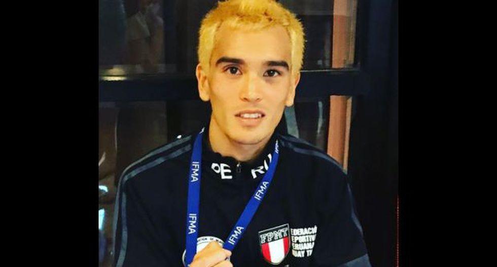Young, de 23 años, ha ganado medallas para el Perú en los tres últimos mundiales. (Foto: IFMA)