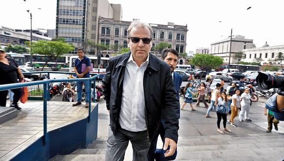 Poder Judicial otorgó un plazo de 130 días hábiles para que José Antonio Nava Mendiola, hijo de Luis Nava pague una caución de US$100 mil en el marco de la investigación que se le sigue por el caso Metro de Lima. (Foto: Archivo de El Comercio)  JOSE NAVA MENDIOLA LLEGA A LA SEDE PRINCIPAL DEL MINISTERIO PUBLICO DONDE SERA INTERROGADO POR EL CASO DE ODEBRECHT  FOTOS: VIOLETA AYASTA / EL COMERCIO