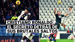 Conoce el secreto detrás de los impresionantes saltos de Cristiano Ronaldo
