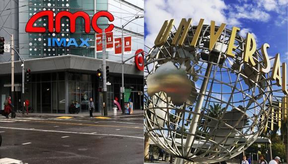 AMC advierte con no volver a proyectar las películas de Universal Studios. (Foto: AFP/@unistudios)