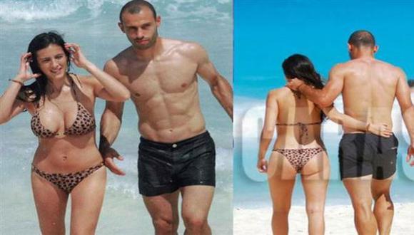 El reposo del guerrero: Mascherano y sus vacaciones en Cancún