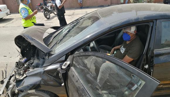 Chofer en estado de ebriedad provocó quíntuple choque en avenida Circunvalación. (Foto: Municipalidad de Surco)