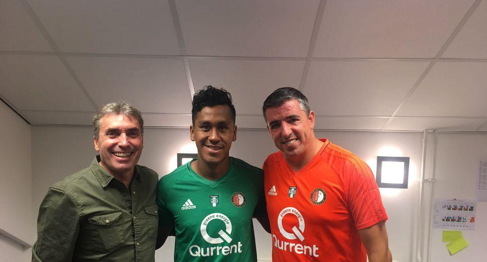 Renato Tapia viene siendo tomado en cuenta en la pretemporada del Feyenoord. El recio mediocampista nacional espera ser llamado para la selección peruana. (Foto: FPF)