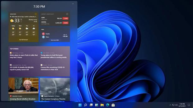 ¿Así luce el nuevo Windows 11? (Foto: Microsofters)