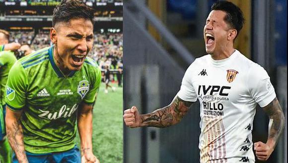 Ruidíaz y Lapadula son las opciones de gol en la selección peruana. (Fotos: Seattle / AFP)