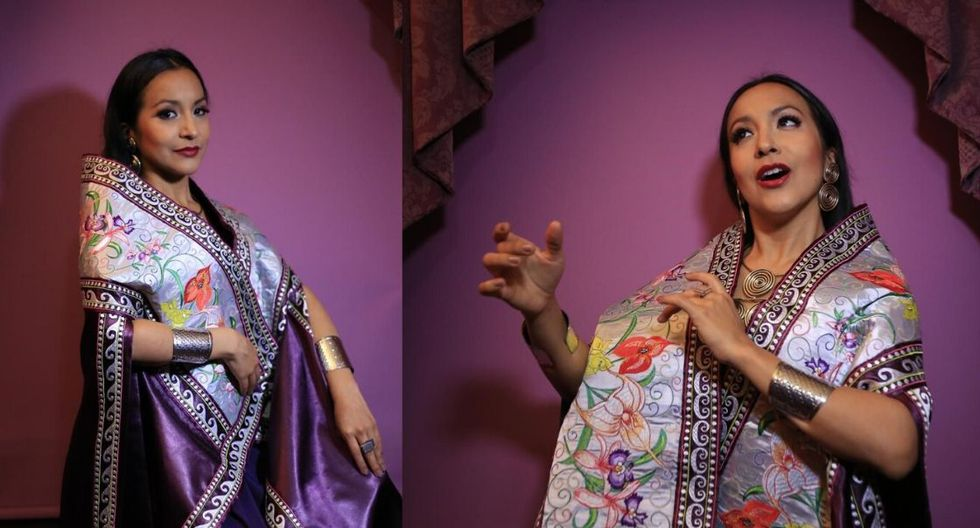Sylvia Falcón se presentará esta noche en el Gran Teatro Nacional. (Foto: El Comercio)